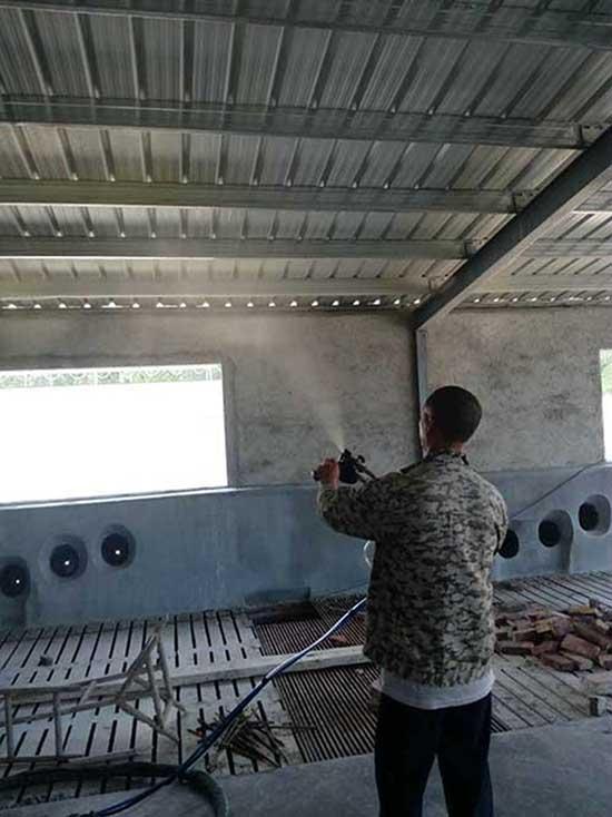 养殖场外墙喷涂聚氨酯喷涂机