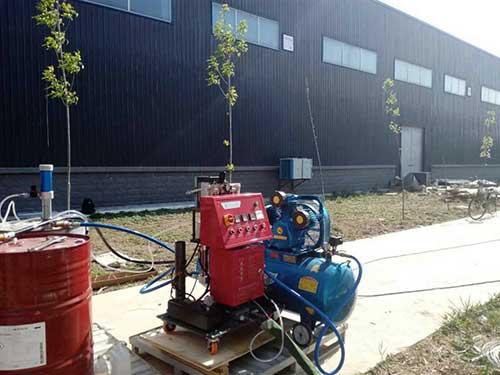 E型号路基填充聚氨酯喷涂机