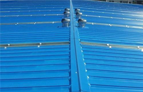 海南养殖场彩钢顶棚建筑喷涂聚脲防腐案例