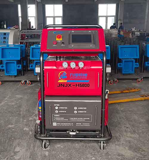 H5800PLC编程自动化聚氨酯喷涂机