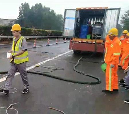 高速公路路基填充注浆