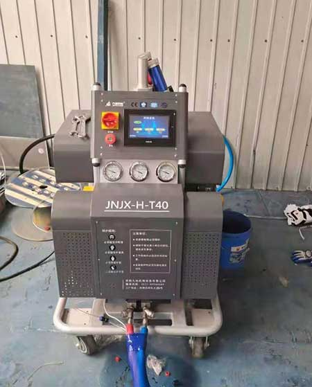 JNJX-H-T40-PLC编程聚脲喷涂设备
