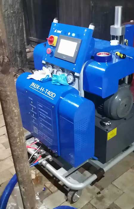 河北聚氨酯发泡机T40D液压型
