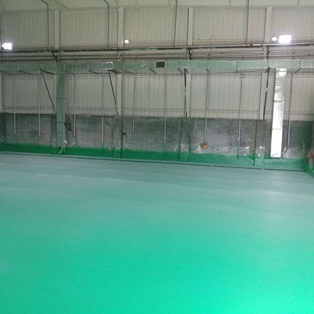 养殖场聚脲地坪涂料喷涂方便